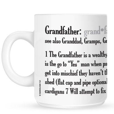Grandfather Definition 10oz White Ceramic Mug