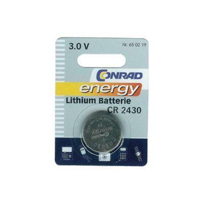 Conrad Lithium Coin Cell Battery