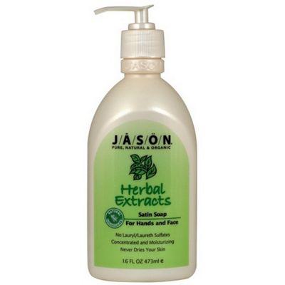 Herbal Extracts Liquid Satin Soap Pump