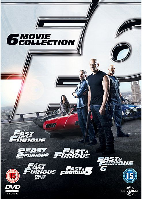 Fast & Furious 1-6 Dvd