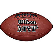 Wilson MVP Official American Football Ball Tan