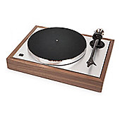 Pro-Ject THECLASSIC-WAL Classic Turntable with 2 Speed Settings and Belt Drive in Walnut