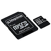 Kingston Canvas Select 32GB Class 10 UHS-I speed microSD Memory Card