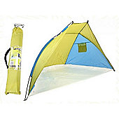 UV45 Beach Shelter - Lime/Blue - Summit