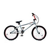 "XN-2 20"" Freestyle Wheel BMX Bike Silver/Red Adult & Kids"