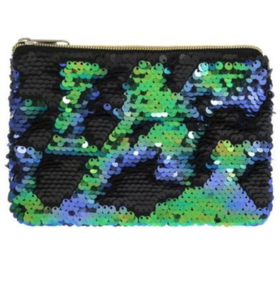 Lesser & Pavey Reversible Sequin Purse