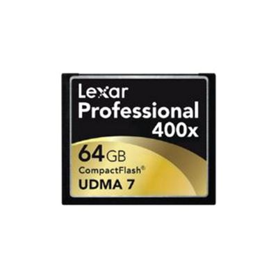 Lexar Professional 64GB 400x UDMA CompactFlash Memory Card