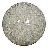 Cream Sparkle Mosaic Small Decorative Ball