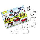 Cooksmart Kids 8 Piece Transport Cookie Cutter Set