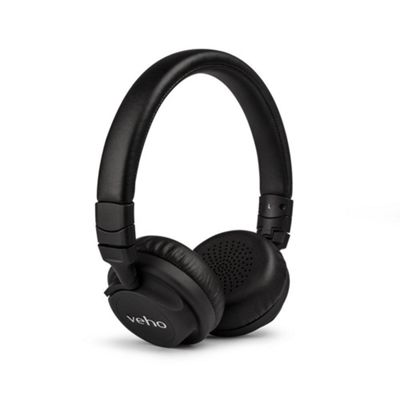 Veho Z-4 On-Ear Wired Headphones Black