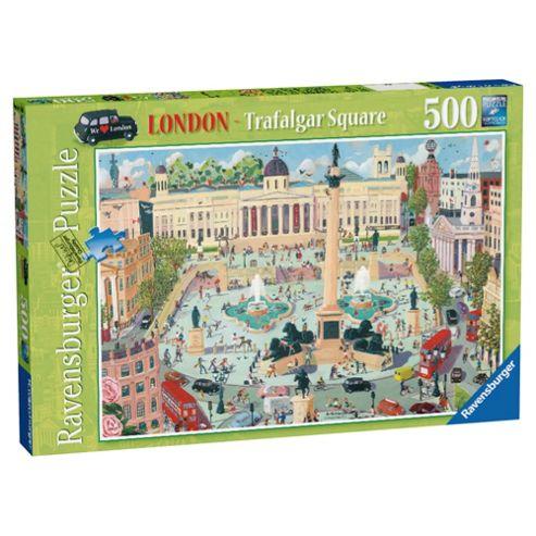 Ravensburger London Trafalgar Square 500-Piece Jigsaw Puzzle