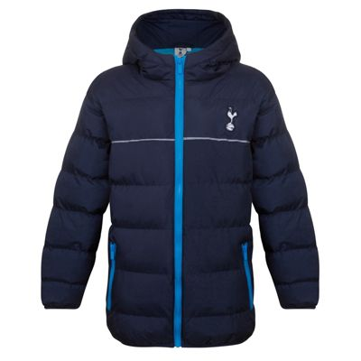 Tottenham Hotspur FC Boys Quilted Jacket 2-3 Years