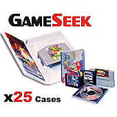 Universal Game Case - for N64, Megadrive, SNES ** x25 ** (TWENTY FIVE)