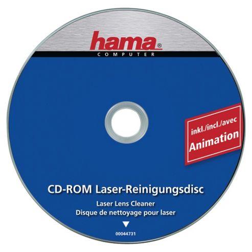 DSHamaCD ROM Laser Lens Cleaner  including animation