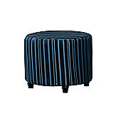 Sofa Collection Guillermo Footstool - Blue