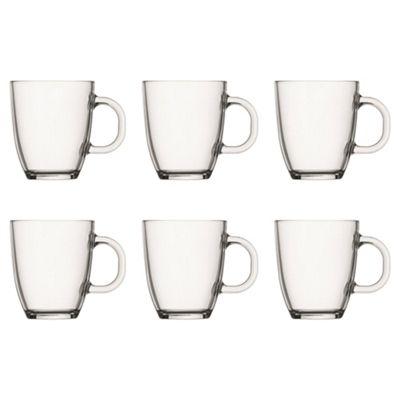 Set of 6 Bodum Glass Mugs