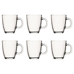 Set of 6 Bodum Glass Mugs