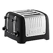 Dualit 46294 4 Slice Lite Toaster - Basalt Black