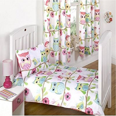 Owl and Friends Toddler / Junior Bedding Bundle 9.0 Tog 120 x 150 cm