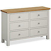 Farrow Painted 6 Drawer Chest