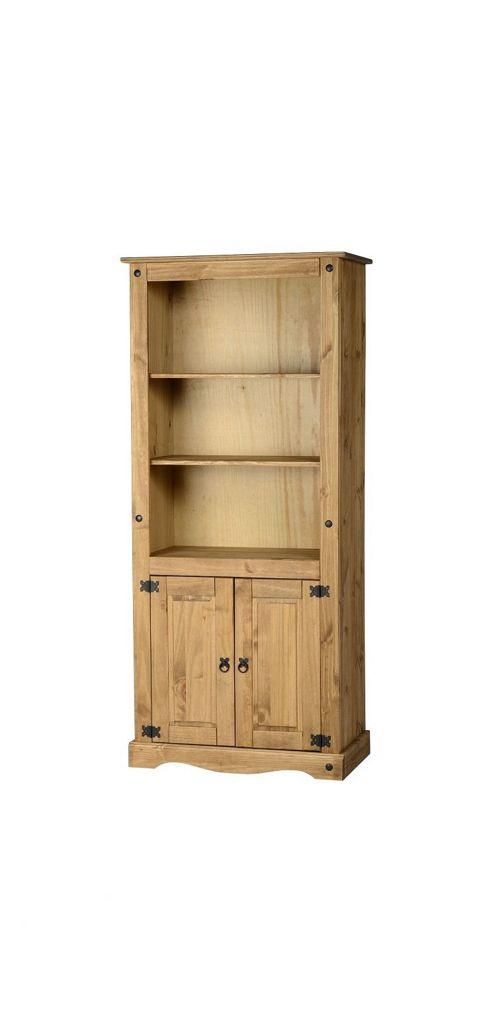 Home Essence Corona 2 Door Display Unit / Bookcase