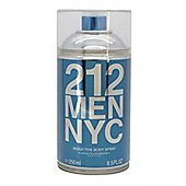 Carolina Herrera 212 Men Body Spray 250ml