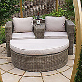 Maze Rattan - Winchester Outdoor Rattan Love Seat