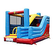 Super Commercial Bouncy Castle and Slide - Rideontoys4u