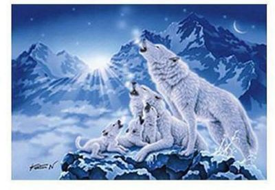 Family Of Wolves Puzzle