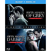 Fifty Shades Darker + Fifty Shades of Grey Blu-ray Double Pack