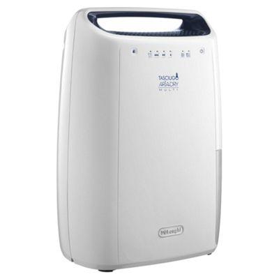 DeLonghi DEX12 2.3L Home Dehumidifier - White
