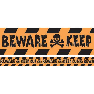 Halloween Keep Out Tape - 30m