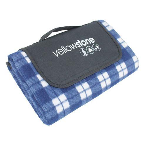 Yellowstone Luxury Fleece Waterproof Picnic Blanket