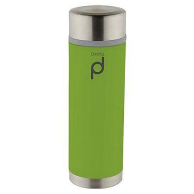 Grunwerg Pioneer Drinkpod Stainless Steel Vacuum Flask in Green 350ml