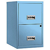 Pierre Henry A4 2 drawer Maxi Filing Cabinet Maya Blue