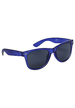 F&F Blue Frame Sunglasses Blue & Black