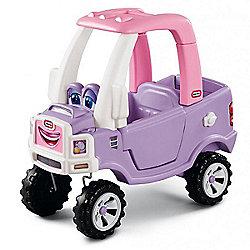 Little Tikes Cozy Truck Princess Ride-On Car