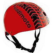 Kiddimoto Helmet Medium (Red Tyre)