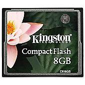 Kingston 8 GB CompactFlash Memory Card