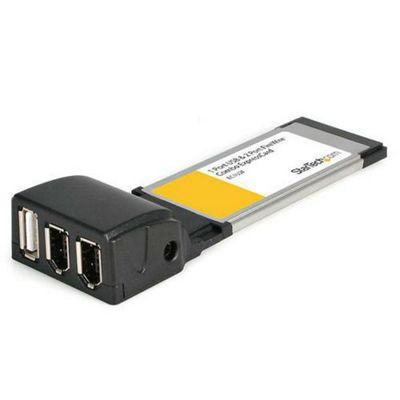 StarTech 2 Port FireWire and 1 Port USB 2.0 ExpressCard Adapter