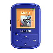 SanDisk Clip Sport Plus 16GB Blue MP3 player