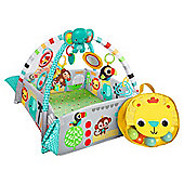 Bright Starts 5 in 1 Activity Play Gym & Ball Pit