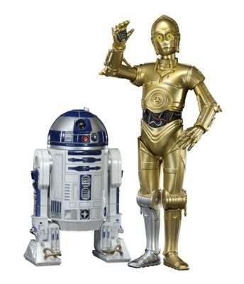 Star Wars - C-3PO and R2-D2 2-pack Artfx+ Statue (18cm)