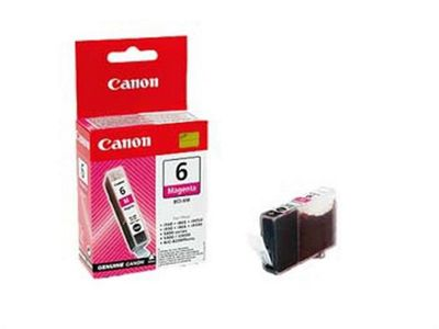 Canon BJ Cartridge BCI-6M Magenta BJ Cartridge BCI-6M MAG