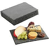 VonShef 6 Mini Slate Cheese Boards