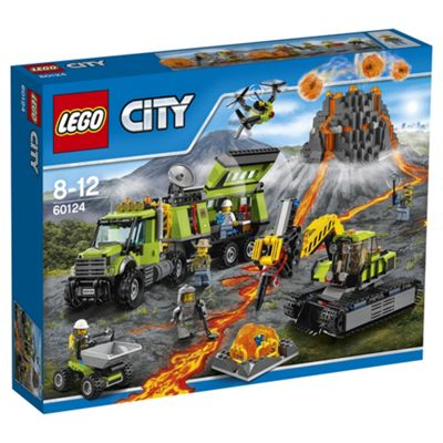 LEGO City Volcano Exploration Base 60124 Building Toy