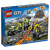 LEGO City Volcano Exploration Base 60124 Building Toy Best Price, Cheapest Prices