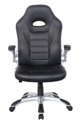 Alphason Tallegda Black Leather Executive Chair