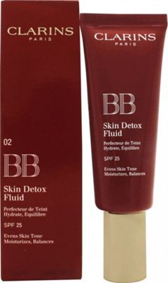 Clarins BB Skin Detox Fluid SPF25 45ml - 02 Medium