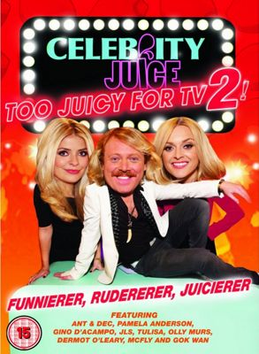 Celebrity Juice: Too Juicy For Tv 2 (DVD Boxset)